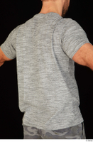 Larry Steel casual dressed grey t shirt upper body 0006.jpg