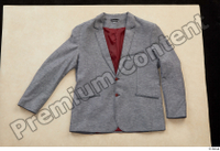 Clothes  226 business grey suit jacket 0001.jpg