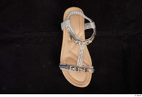 Clothes  230 shoes silver sandals 0001.jpg