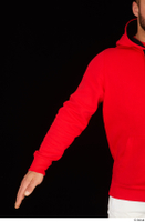 Dave arm dressed red hoodie upper body 0001.jpg
