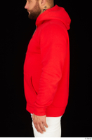 Dave arm dressed red hoodie upper body 0003.jpg