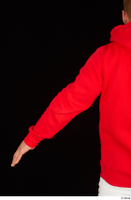 Dave arm dressed red hoodie upper body 0004.jpg