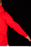 Dave arm dressed red hoodie upper body 0005.jpg