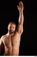 Dave  1 arm flexing front view nude 0005.jpg
