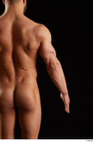Dave  1 arm back view flexing nude 0001.jpg