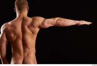 Dave  1 arm back view flexing nude 0003.jpg
