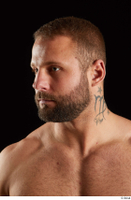 Dave  2 bearded flexing front view head 0002.jpg