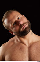 Dave  2 bearded flexing front view head 0004.jpg