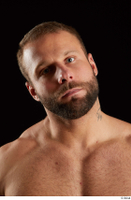 Dave  2 bearded flexing front view head 0005.jpg