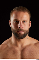 Dave  2 bearded flexing front view head 0006.jpg