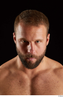 Dave  2 bearded flexing front view head 0009.jpg