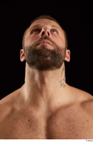Dave  2 bearded flexing front view head 0013.jpg