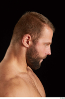 Dave  2 bearded flexing head side view 0002.jpg