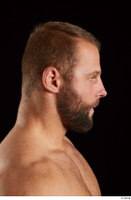 Dave  2 bearded flexing head side view 0003.jpg