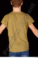 Matthew brown t shirt casual dressed standing upper body 0005.jpg