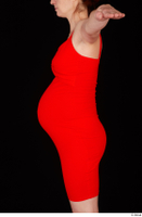Charity 2 casual dressed red dress trunk upper body 0004.jpg