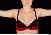 Charity 2 breast chest red bra underwear upper body 0001.jpg