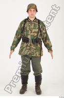German army uniform World War II. ver.4 army camo standing whole body 0001.jpg