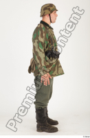 German army uniform World War II. ver.4 army camo standing whole body 0006.jpg