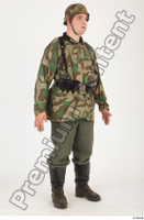 German army uniform World War II. ver.4 army camo standing whole body 0007.jpg