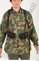 German army uniform World War II. ver.4 army camo camo jacket upper body 0001.jpg