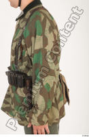German army uniform World War II. ver.4 arm army camo camo jacket upper body 0003.jpg