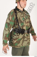 German army uniform World War II. ver.4 army camo camo jacket upper body 0005.jpg