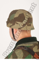 German army uniform World War II. ver.4 army camo head helmet 0004.jpg
