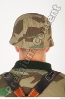 German army uniform World War II. ver.4 army camo head helmet 0005.jpg