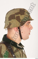 German army uniform World War II. ver.4 army camo head helmet 0007.jpg