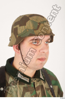 German army uniform World War II. ver.4 army camo head helmet 0008.jpg