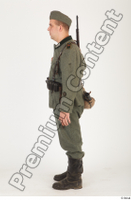 German army uniform World War II. ver.1 - poses army soldier standing whole body 0003.jpg