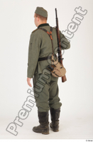 German army uniform World War II. ver.1 - poses army soldier standing whole body 0004.jpg