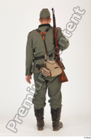 German army uniform World War II. ver.1 - poses army soldier standing whole body 0005.jpg
