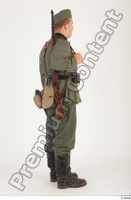 German army uniform World War II. ver.1 - poses army soldier standing whole body 0006.jpg