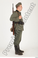 German army uniform World War II. ver.1 - poses army soldier standing whole body 0007.jpg