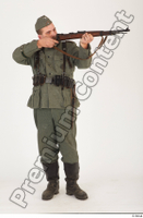 German army uniform World War II. ver.1 - poses army soldier standing whole body 0009.jpg
