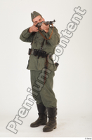 German army uniform World War II. ver.1 - poses army soldier standing whole body 0010.jpg