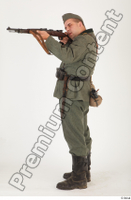 German army uniform World War II. ver.1 - poses army soldier standing whole body 0011.jpg