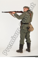German army uniform World War II. ver.1 - poses army soldier standing whole body 0012.jpg