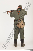 German army uniform World War II. ver.1 - poses army soldier standing whole body 0013.jpg