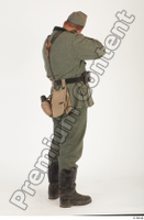 German army uniform World War II. ver.1 - poses army soldier standing whole body 0014.jpg