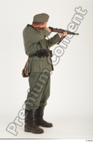 German army uniform World War II. ver.1 - poses army soldier standing whole body 0015.jpg