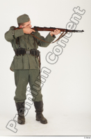 German army uniform World War II. ver.1 - poses army soldier standing whole body 0016.jpg
