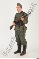 German army uniform World War II. ver.1 - poses army soldier standing whole body 0018.jpg