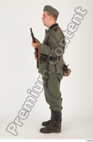 German army uniform World War II. ver.1 - poses army soldier standing whole body 0019.jpg