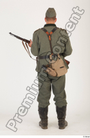 German army uniform World War II. ver.1 - poses army soldier standing whole body 0021.jpg