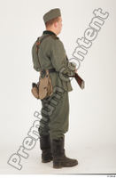 German army uniform World War II. ver.1 - poses army soldier standing whole body 0022.jpg