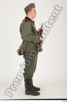 German army uniform World War II. ver.1 - poses army soldier standing whole body 0023.jpg