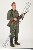 German army uniform World War II. ver.1 - poses army soldier standing whole body 0024.jpg